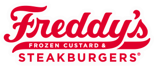 Freddy's Frozen Custard and Steakburgers Red Script Logo