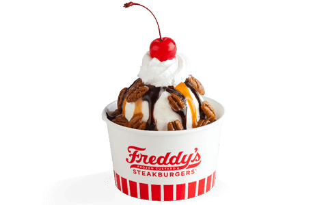 Freddy's Frozen Custard Signature Sundae