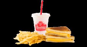 Freddy's Frozen Custard Kids Meal Grilled Cheese.
