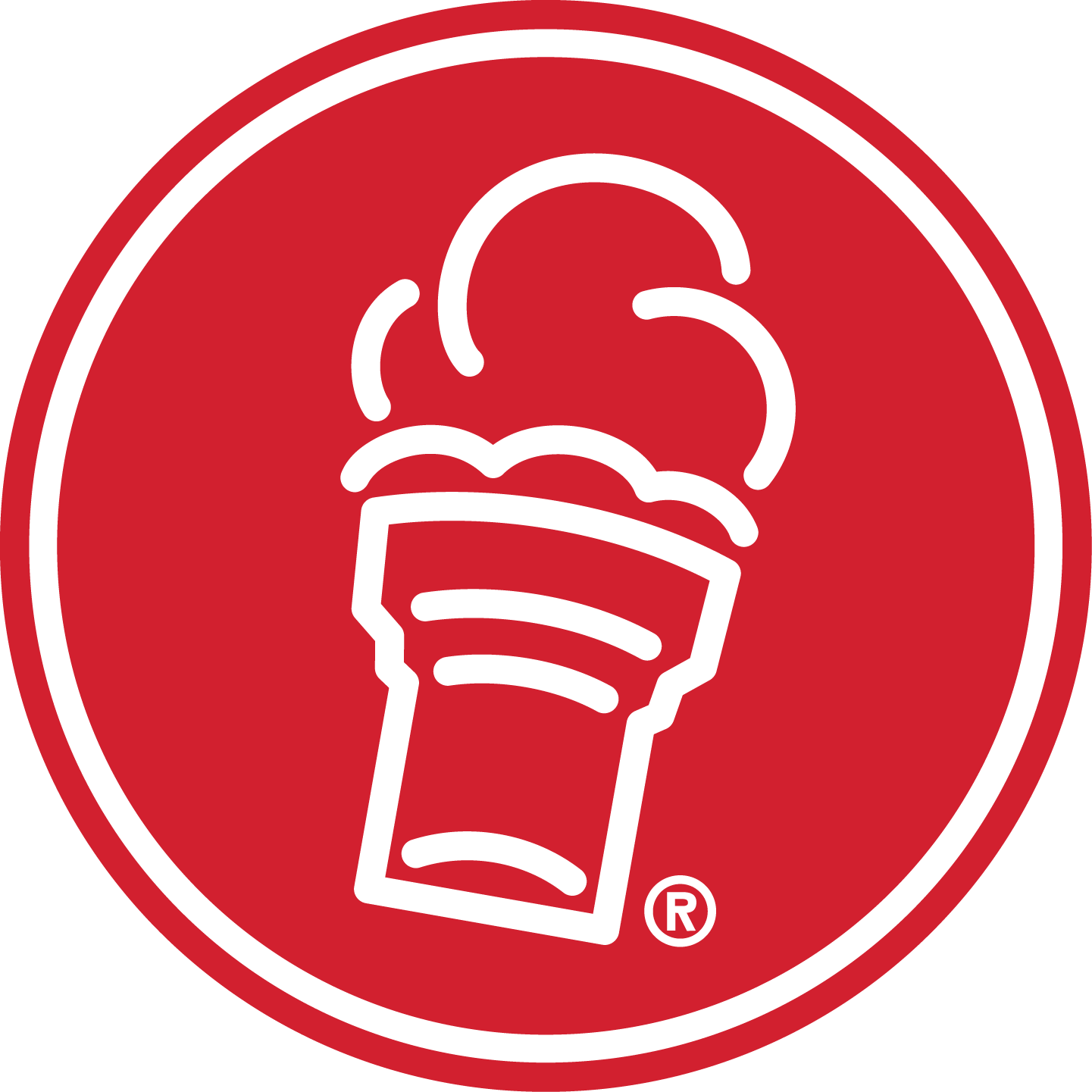Freddy's Cone Icon Circle