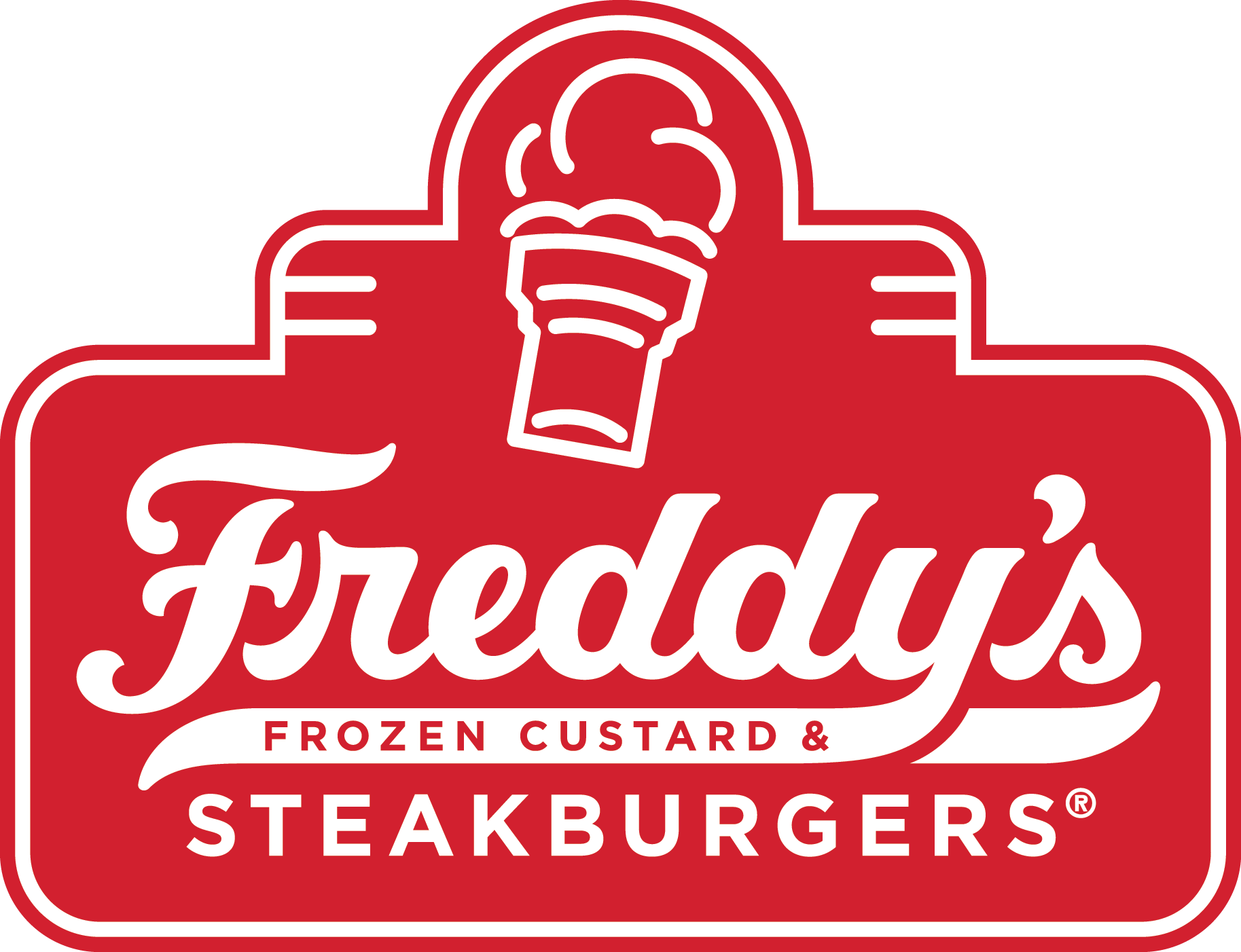 Freddy's Contained Shape Logo