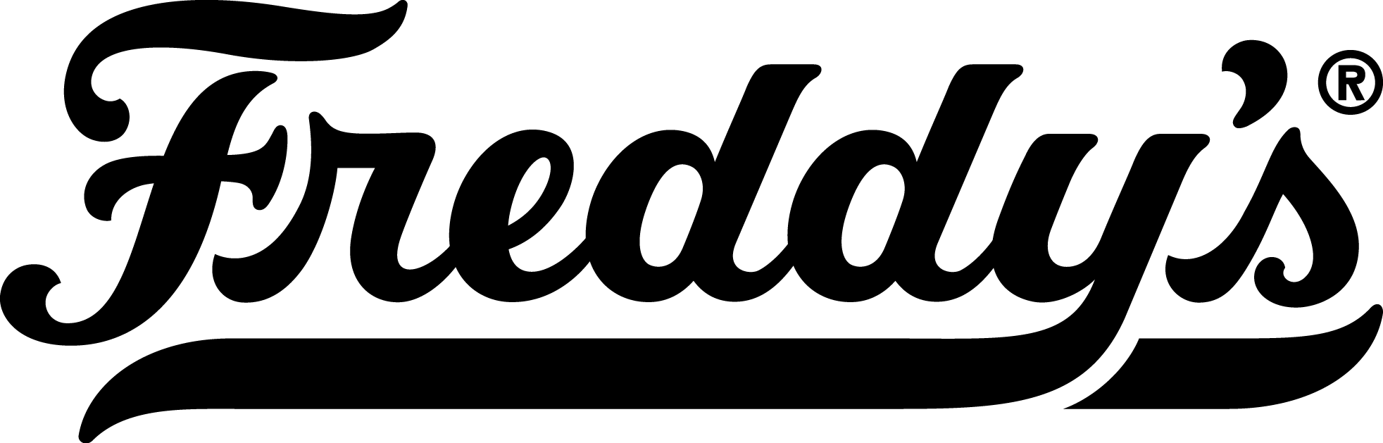 Freddy's Secondary Logo Black