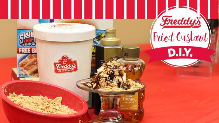 Freddy's Fried Custard DIY