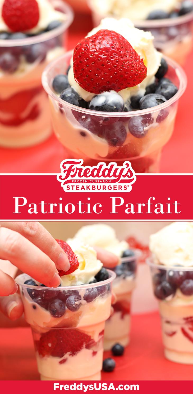 Freddy's Patriotic Parfait