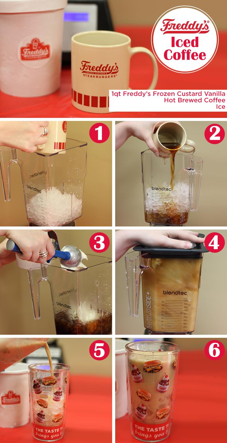 Iced Coffee Step By Step