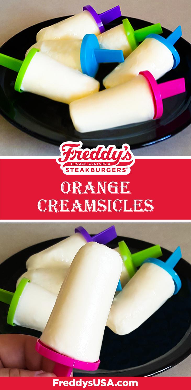 Freddy's Orange Creamsicles