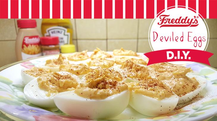 Freddy's Deviled Eggs D.I.Y pinterest post.