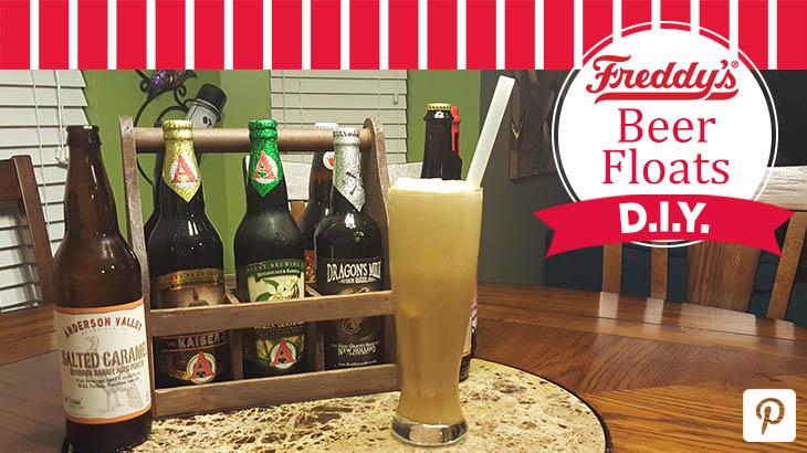 Freddy's Beer Floats D.I.Y. Pinterest post.