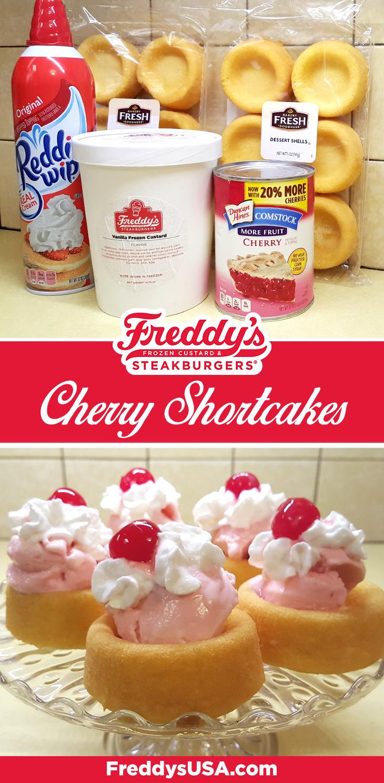 Freddy's Cherry Shortcakes recipe