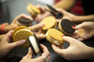 Custard Cookies Crowd