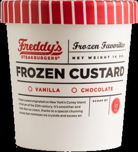 Freddy's Frozen Custard Pint