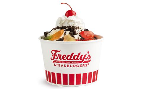 Freddy's Frozen Custard & Steakburgers Sundae Dirt 'n Worms
