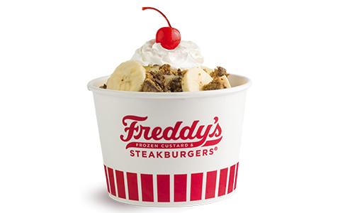 Freddy's Frozen Custard & Steakburgers PBC&B Sundae
