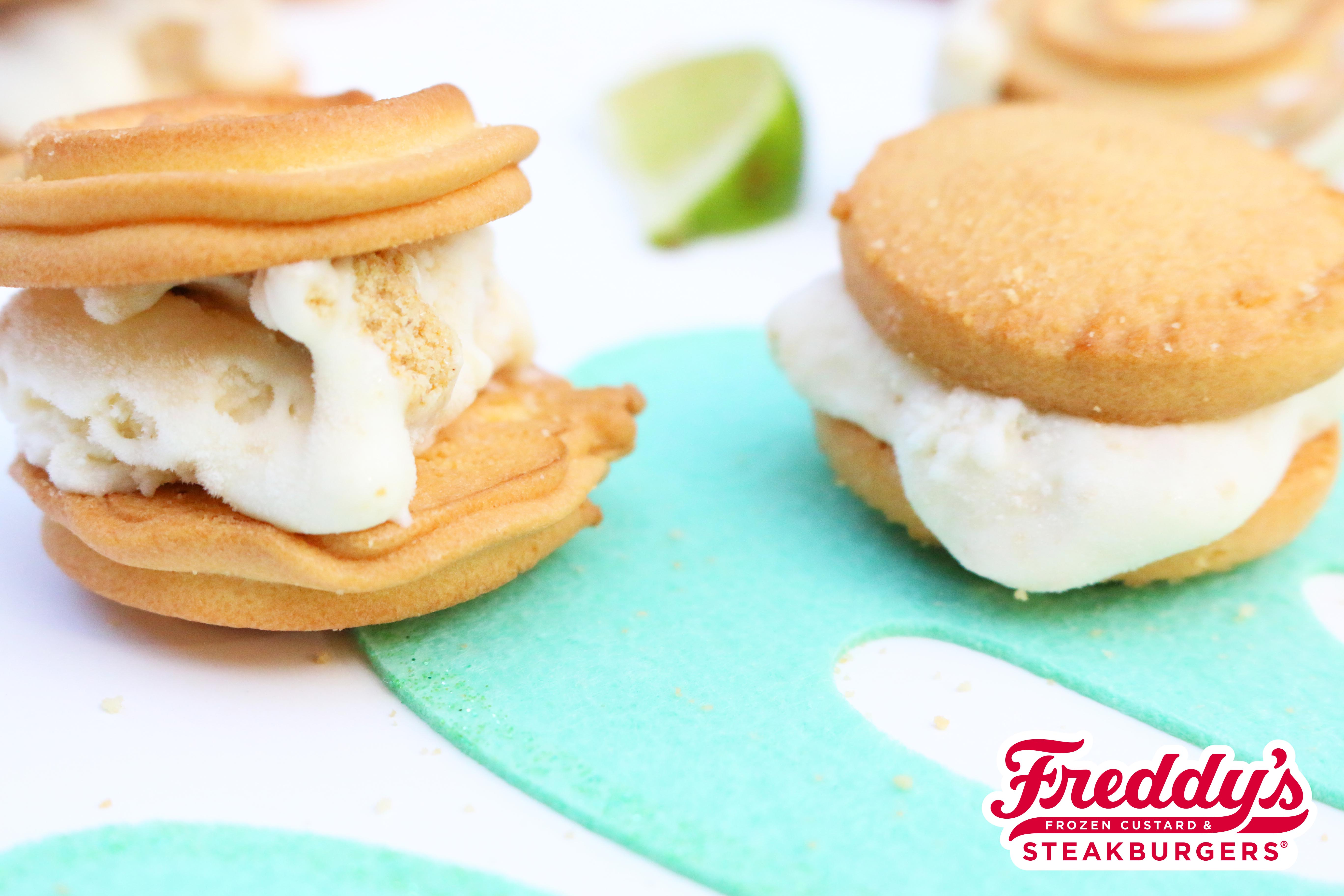 Key Lime Custard Cookies to celebrate the limited time custard!