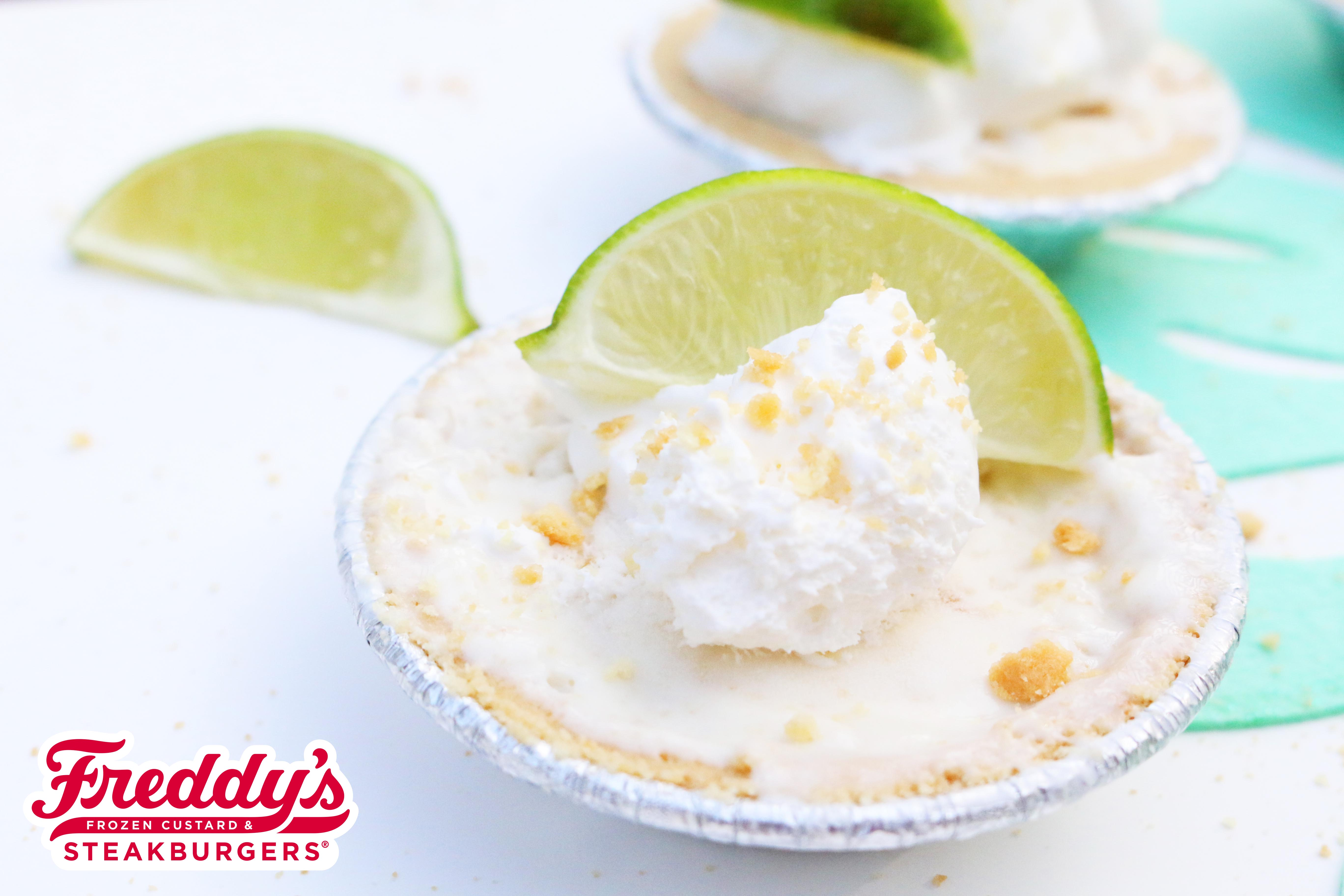 Mini Key Lime Pies filled with Freddy's Key Lime Custard