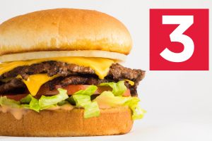 Double Steakburger California Style