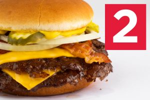 Bacon & Cheese Double Steakburger
