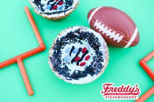 Freddy's Super Bowl Sundaes