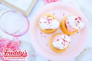 Cherry Custard Short Cakes
