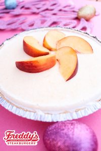 Freddy's Peach Custard Pie