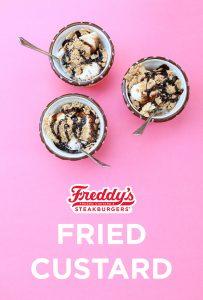 Freddy's Fried Custard on Pinterest
