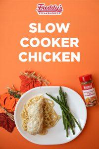 Freddys' Slow Cooker Chicken on Pinterst