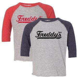Freddy's Kids Baseball Tee