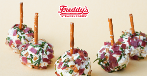 Cheese Ball Bites made with Freddy's Steakburger & Fry Seasoning