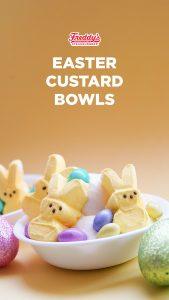 Easter-themed frozen custard bowls
