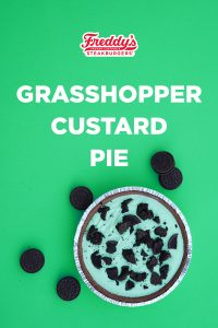 Freddy's Grasshopper Custard Pie