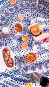 A Freddy's picnic? Yum!