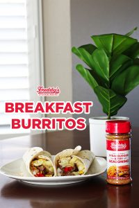 Father's Day Breakfast Burritos