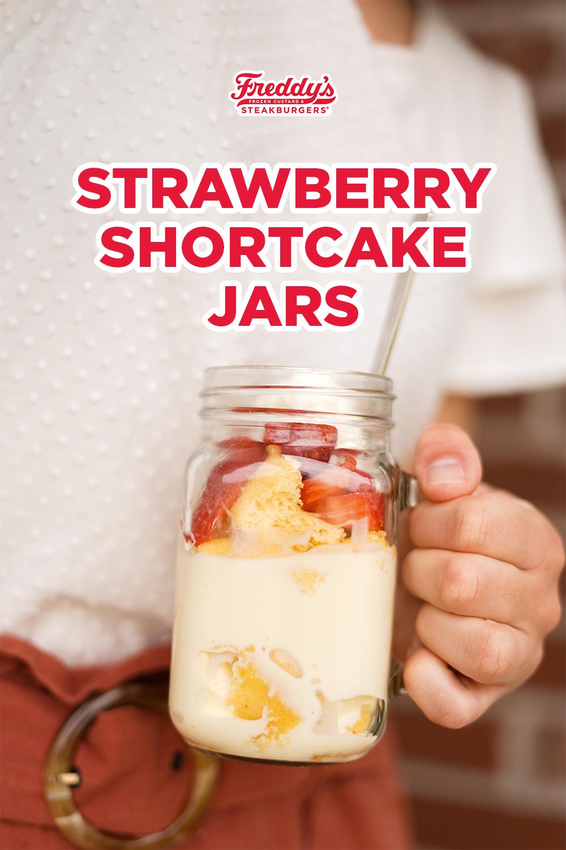 Strawberry Shortcakes Jars