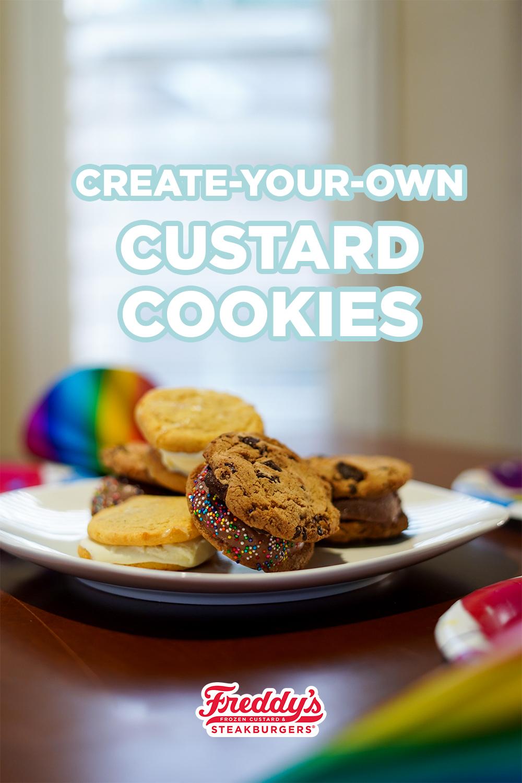 Create-Your-Own Custard Cookies