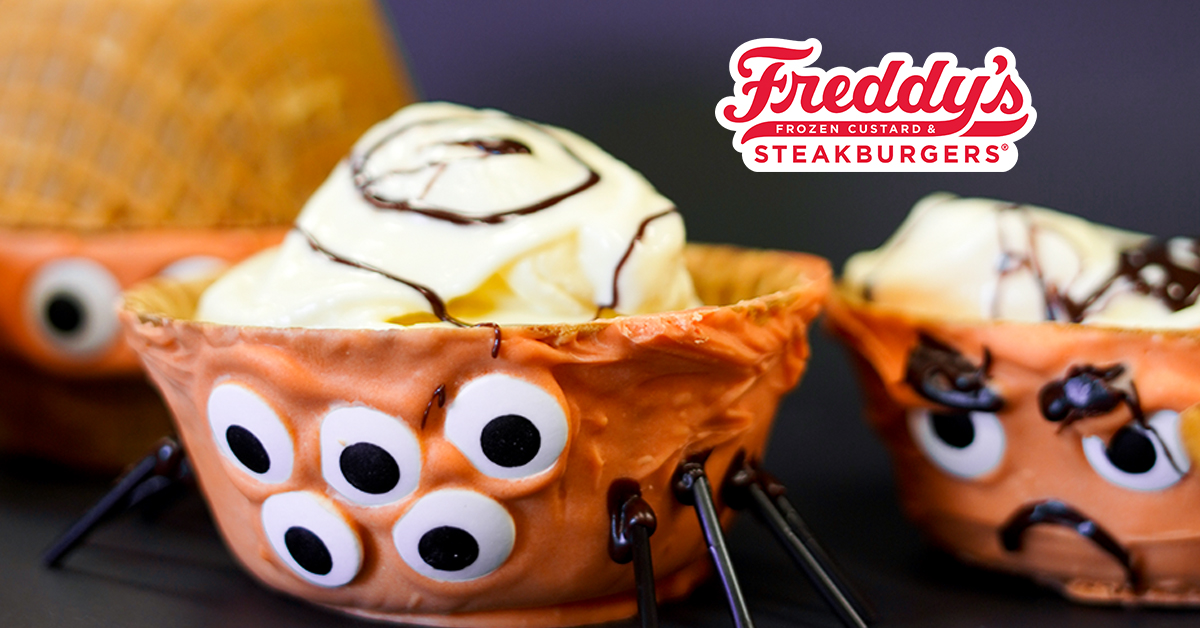 Monster Bowls with Freddy's Frozen Custard